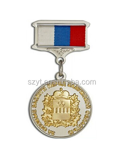 top quality of medal with double color plating--Shenzhen Manufacture