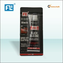 General Purpose Black RTV Silicone Sealant High Temperature , Fast Dry
