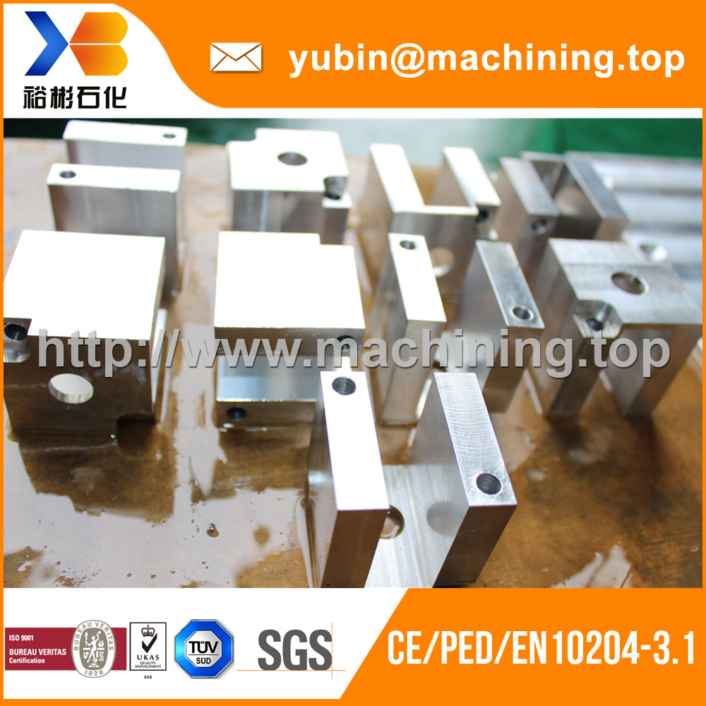 Aluminum Steel Parts(Forging and CNC Machining) baffle plate Factory Price
