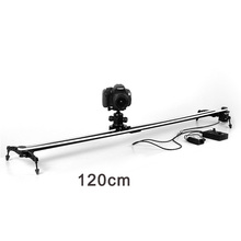 Electric Autodolly Video Car Motorized DSLR Dolly Track Slider Electronic Motorized Camera Track Video Slider for Cinema film