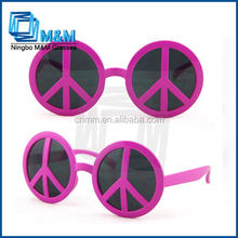 Peace Party Glasses Party Cheap Colored Sunglasses