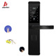 Anti-theft card swipe scanner sensor fingerprint door lock