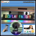 P6 16X128 RGB LED ticker board LED sign LED advertising billboard