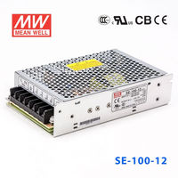 SE-100-12 100W 9V low-price 2 years warranty AC-DC single Mean well power supply
