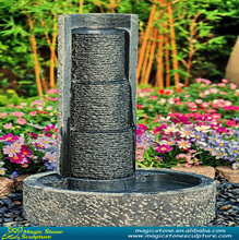 bamboo tube water fountain outdoor