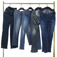 Good quality used clothes second hand clothing summer men's jeans in bales
