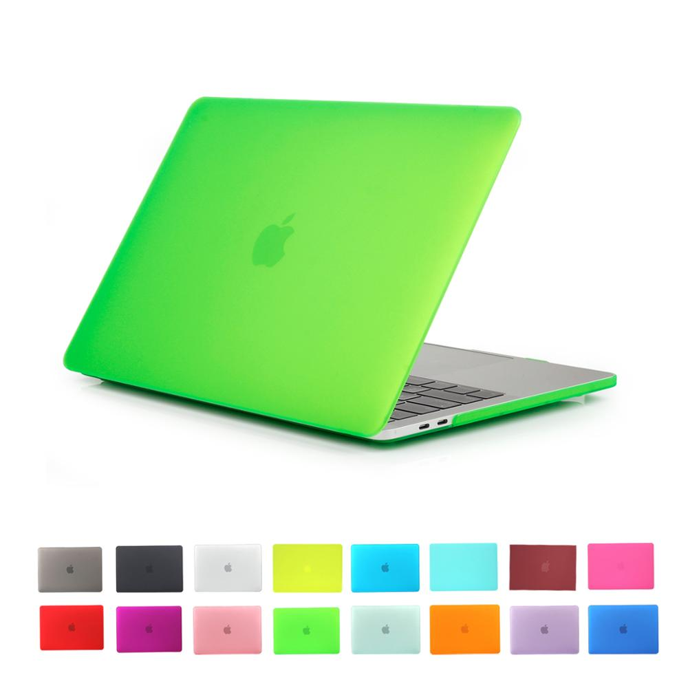 Solid New Blue Color For Apple MacBook Pro 13 Inch Case , Rubberized Laptop Cover for 13.3 '' Mac Book