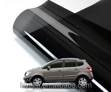 12 years warranty 3M quality nano caramic one way vision heat insulation car window film
