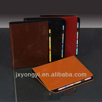 PU covered notebook with pen