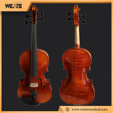 profesional high grade viola with beautiful flame