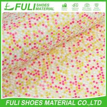 High Quality Durable Popular Leather Glitter
