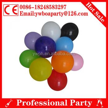 12 inches cheap latex balloons for party decoratioin