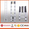 aluminium extension ladder,aluminum telescopic ladder en131,5m telescopic ladder