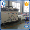 Wholesale semi-automatic chain feeding paper printer slotter die cutter