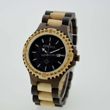 High Quality New Fashion Wooden Watch,100% Natural Watch Wood,Wooden Wrist Watch China Uhren Watches