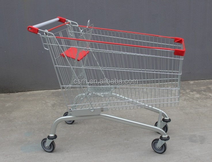 Europe Style Common Supermarket Shopping Cart Trolley