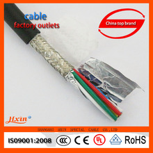 PUR high flexible servo cable foiled cable wire robotic cable