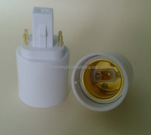 CFL G24 to E27 lamp base adapter