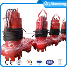 Submersible sewage centrifugal pump manufacturer wastwater pump