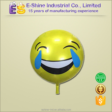 round funny face emotionfor party decoration