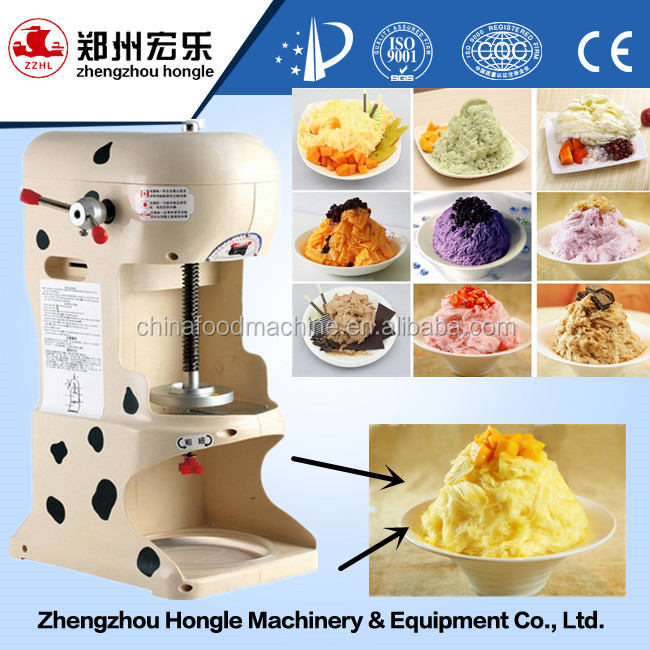 Electric Snow Cone Shaved Ice Block Shaver Machine