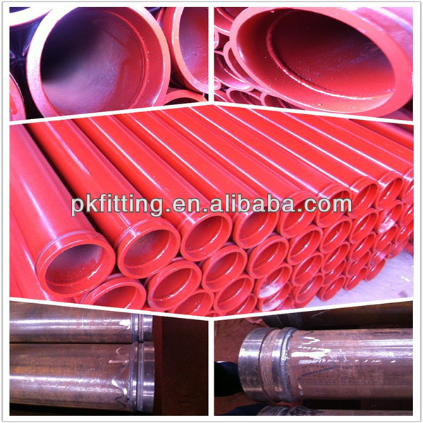 Pump spare part DN125 Concrete Conveying Pipe st52 pipe fitting