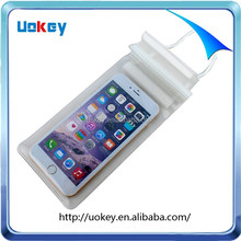 China supply neck hanging best waterproof pouch for Iphone 6