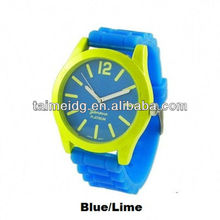 geneva led silicone watch free samples and free shipping
