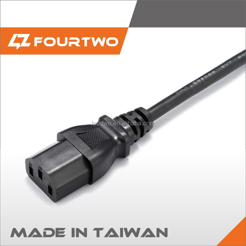 120v push/dimmer/touch power cord with a male connector
