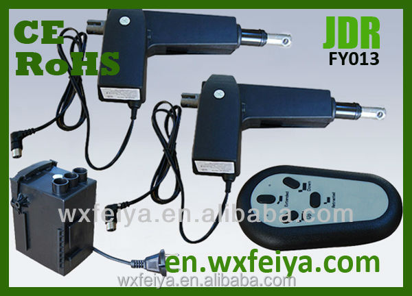 FY013 high-strength plastic protects motor 8000N Load capacity electric linear actuator