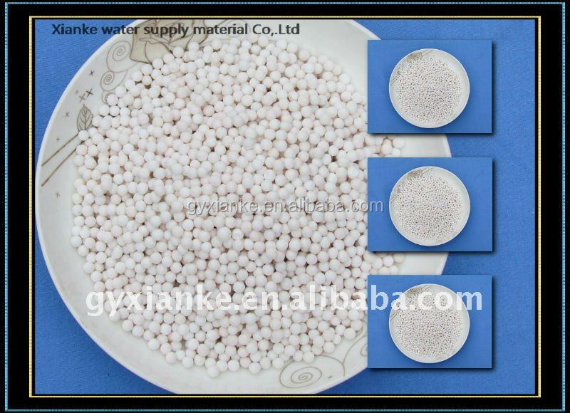 Best Refined Activated Alumina Ball Filter Media Defluorination, Deodorization and Decoloration in Drinking Water