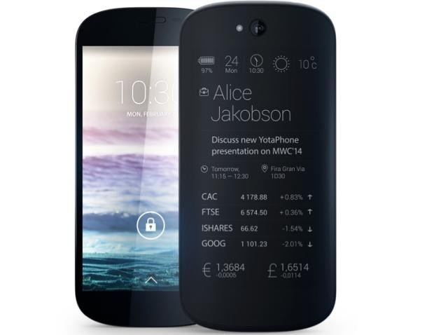 NEW yotaphone 2 e-Ink phone dual screen nfc mobile phone price list