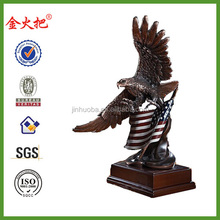 Promotional Antique brass Eagle figurine for sale