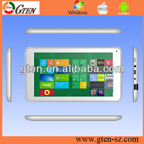 Supporting phone call CHINA OEM Dual core 10 inch 1GB DDR3 windows pc tablet with keyboard cover