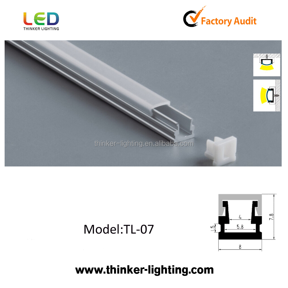 Thinker Aluminum Profile for aluminum led profile housing LED Strip Lighting SMD5050 5630 3528