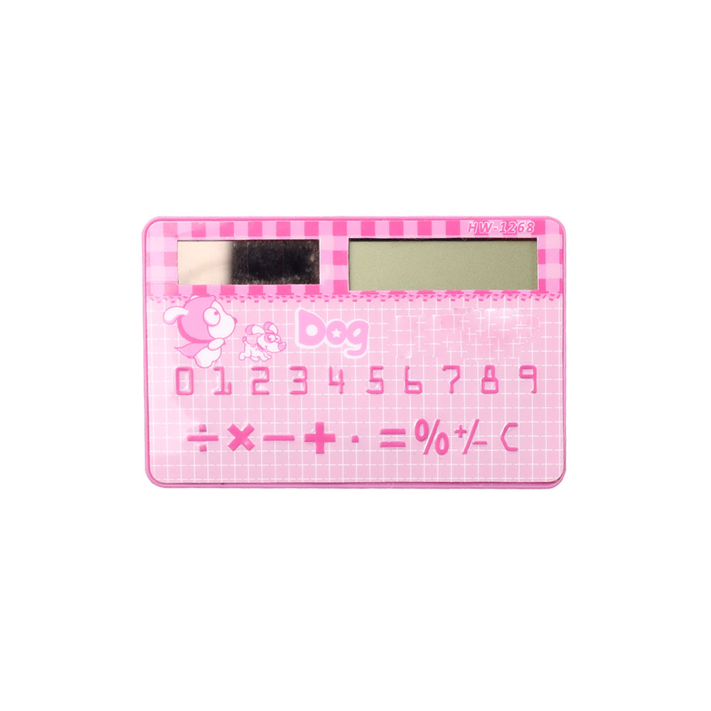 8 Digits Mini Pocket Cheap Promotion Gifts Credit Card Calculator for Sale