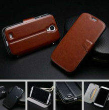 Wholesale mobile phone casing retro crazy horse leather wallet mobile phone case for samsung galaxy s4