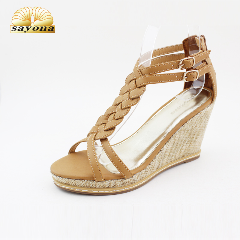 Comfortable beautiful flat fancy low heel ladies shoes