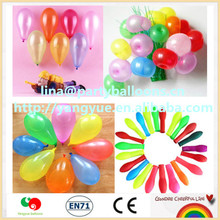 High quality Wholesale party powerd Latex magic balloons minutes water