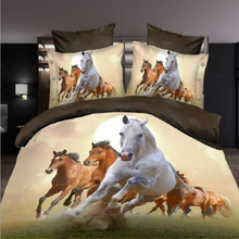 Hot selling Horse design 3D bedding sets with high quality