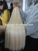 2016 New Fashionable Last 12 Months Full Cuticle Double Drawn Remy 26 Inch Keratin Human Hair Extensions
