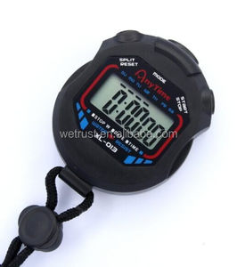 Multifunction Big LCD Digital Countdown Sports Running Stopwatch Timer