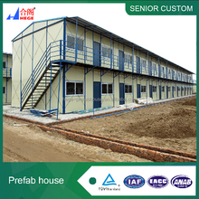 Temporary modular prefabricated 3 story house, site camp