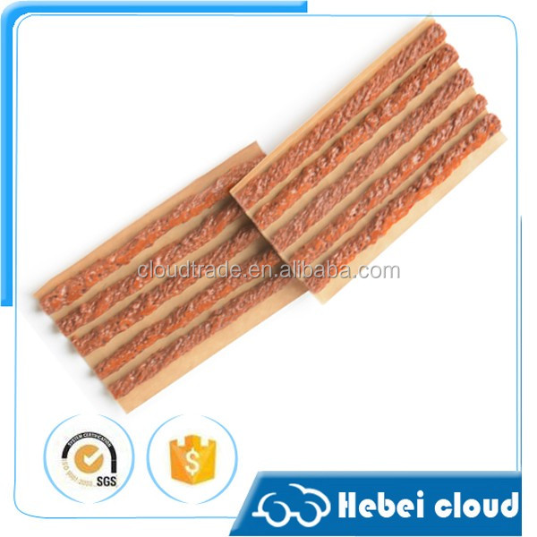 Brown Or Black Rubber Tire Repair Seal Strings/Vulcanizing Tubeless Repair Seal Strings