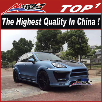 High quality carbon body kit for aero kit 2011-2014 958 wide body LA style kit for Cayenne 958