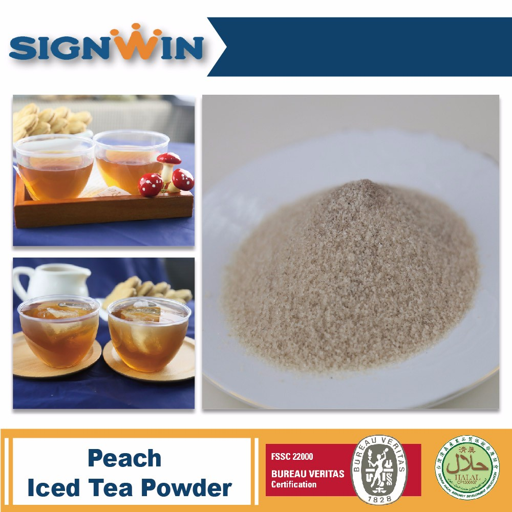 Low Price Best Selling Instant Peached Iced Tea Powder