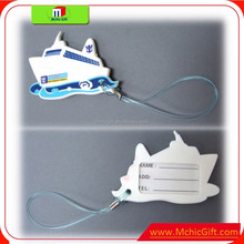 Low price wholesale /custom pvc luggage tag/fancy luggage tag