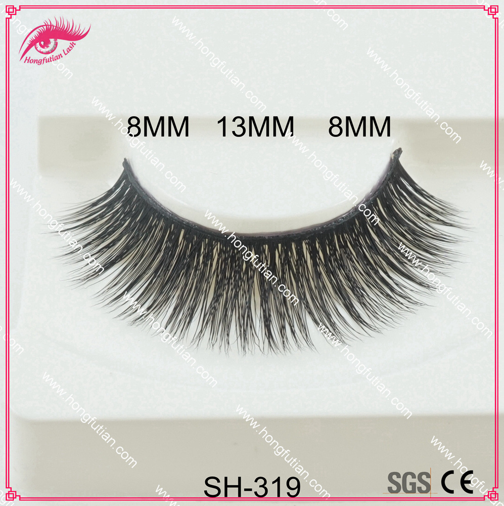 False eyelashes private label eyelashes beauty faux mink eyelashes