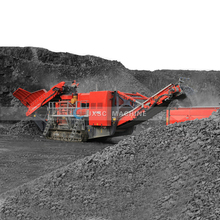 Concrete Mobile Crusher Station Portable Quarry Pebble Cone Crusher Stone Machine Price Gravel Granite Rock Crushing Plant