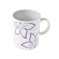 Porcelain flower mug with Crystals from SWAROVSKI